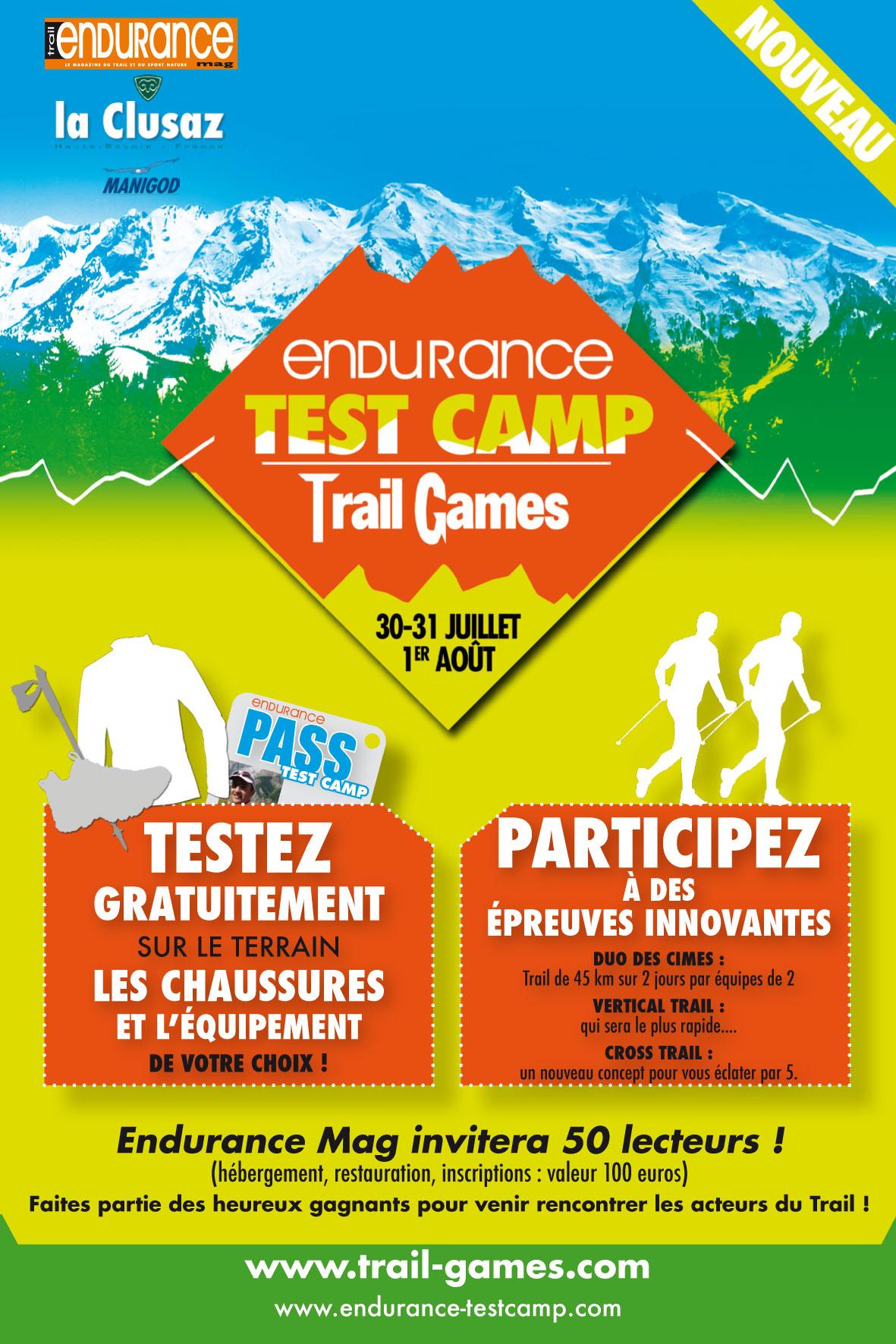 Endurance Test Camp & Trail Games 2010