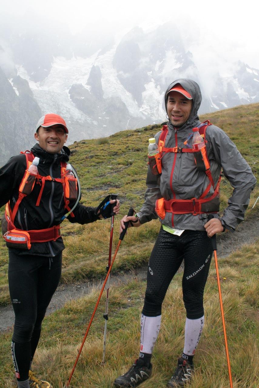 CCC 2010 : montée sur la Tête de la Tronche (2584 m)